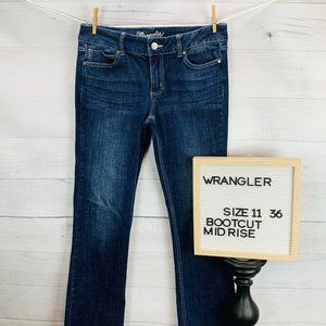 Wrangler Womens Jeans Bootcut Size 11×36